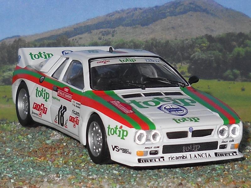 Lancia 037 rally ToTip rally de san remo 1983 Miki Biasion 1:18 Altaya Ixo nuevo